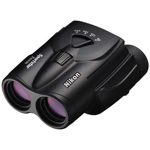 8-24x25 Sportstar Zoom Binoculars (Black)