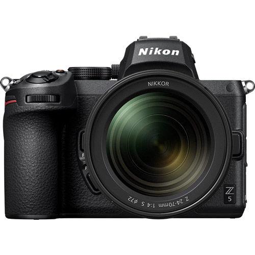 Image of Nikon Z5 Mirrorless Body w/NIKKOR Z 24-70mm f/4.0 S Lens