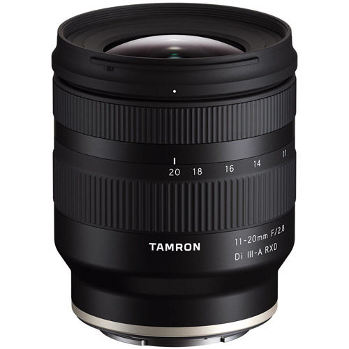 Image of Tamron 11-20mm f/2.8 Di III-A RXD Lens for E-Mount
