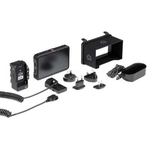 "Ninja V+PLUS - PRO  5"" H.265 (HEVC) 10-bit 4:2:2 Monitor Recorder Kit"