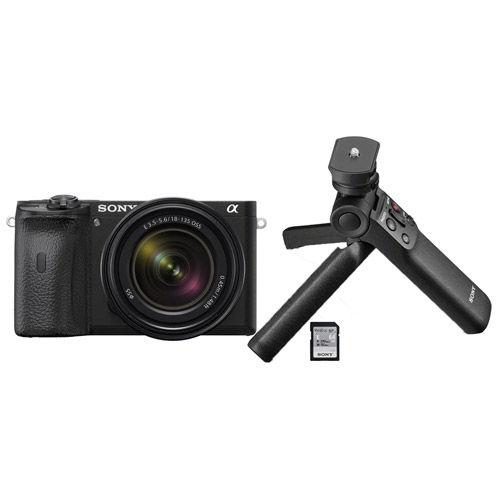 Alpha A6600 Mirrorless Body w/ Vlogger Accessory Kit