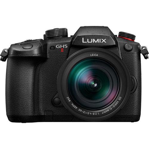 Image of Panasonic Lumix DC-GH5 II Mirrorless Kit w/ Leica 12-60mm f/2.8-4.0 Power OIS Lens