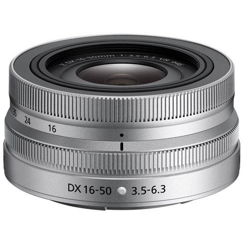 NIKKOR Z DX 16-50mm f/3.5-6.3 VR Silver Lens