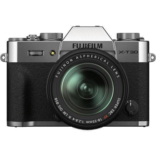 Image of Fujifilm X-T30 II Mirrorless Kit Silver w/ XF 18-55mm f/2.8-4.0 R LM OIS Lens