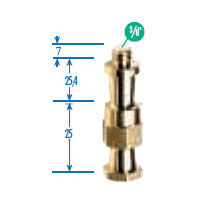 "036-38 5/8"" Light Stud for Super Clamp with 3/8"" Thread"