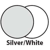 1.8x1.2m(6'x4') Silver/White Panelite