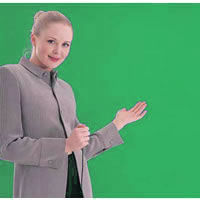 Chromakey Background (Green) Collapsable 275x180cm