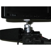 Camera Shoe Mount v.3 - Lightweight Ball Swivel