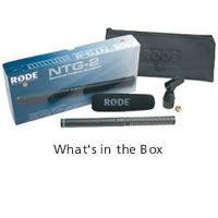 NTG-2 Condensor Microphone Shotgun Lightweight