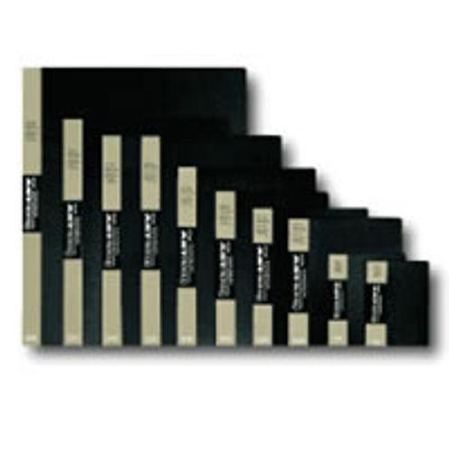 "16 1/2"" x 23 3/8"" Black Presentation Book - 24 pages  ""Original Art Profolio"""