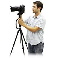 Handheld Stabilizer/Tripod for Cameras up to 9lbs.