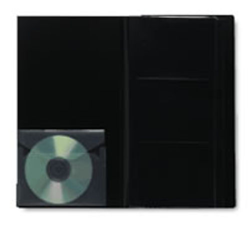4 x 6 - 3 Art Profolio Photo Album includes protective sleeves and CD/DVD holder (7.125 x 13.3