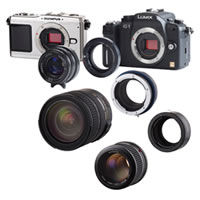 Lens Adapter Sony NEX Camera to Leica M Lens