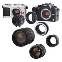 Lens Adapter Sony NEX Camera to Olympus OM Lenses