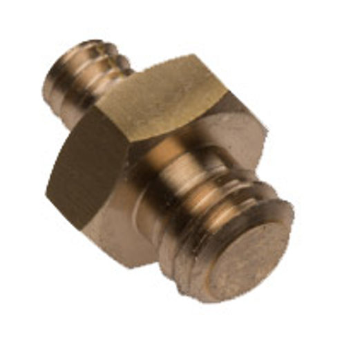 """Male 1/4"""" - Male 3/8"""" Hex Adapter"""