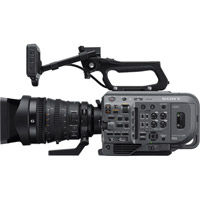 Includes Mounting Bracket Stereo//Shotgun Advanced Super Cardioid Microphone for Sony HDR-CX455 with Dead Cat Wind Muff
