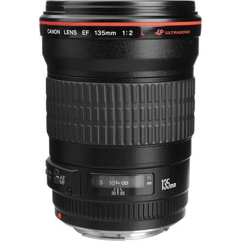 EF 135mm f/2.0L USM Telephoto Lens