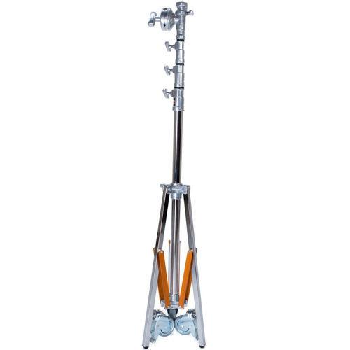 Medium Overhead Roller Stand (14', Chrome)