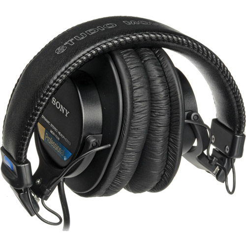 MDR7506 Headphones Large Diaphragm, Foldable
