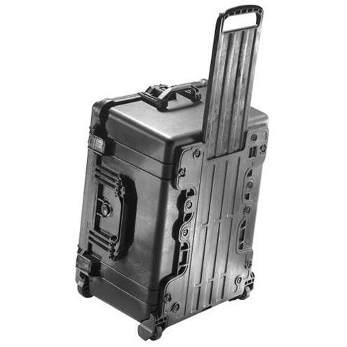 1620 Case Black w/Foam w/Retractable Handle & Wheels