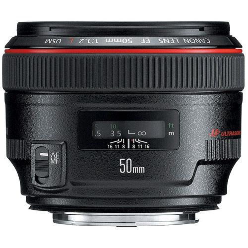 EF50mm f/1.2 L usm lens