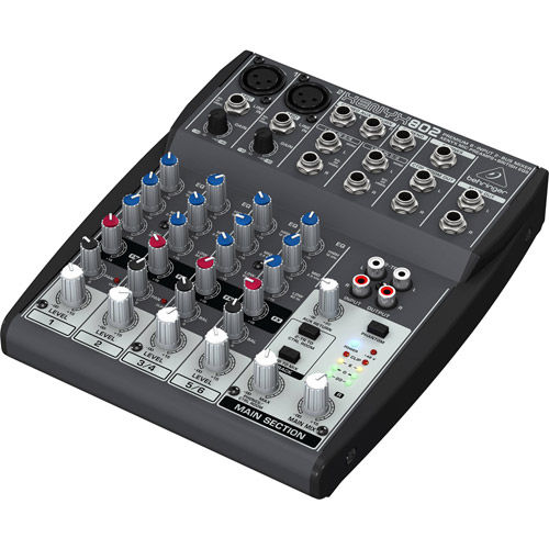 XENYX 802 8-Input 2-Bus Mixer