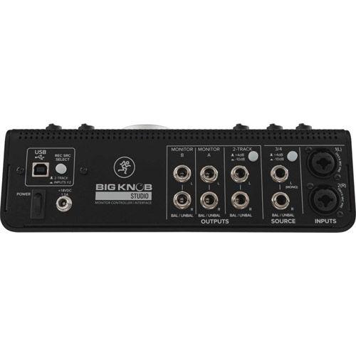 Big Knob Studio 3x2 Studio Monitor Controller w/ 192kHz USB I/O