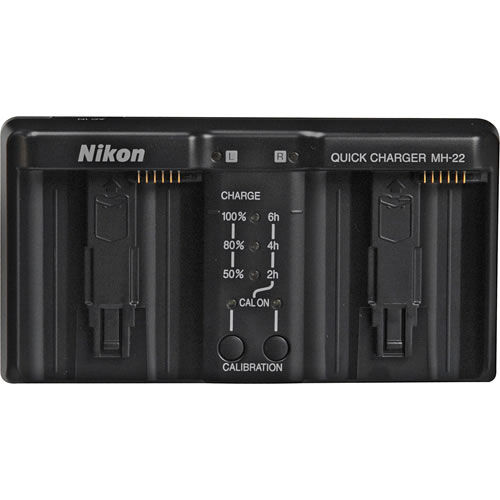 MH-22 Quick Charger for D3 Charges EN-EL4a battery
