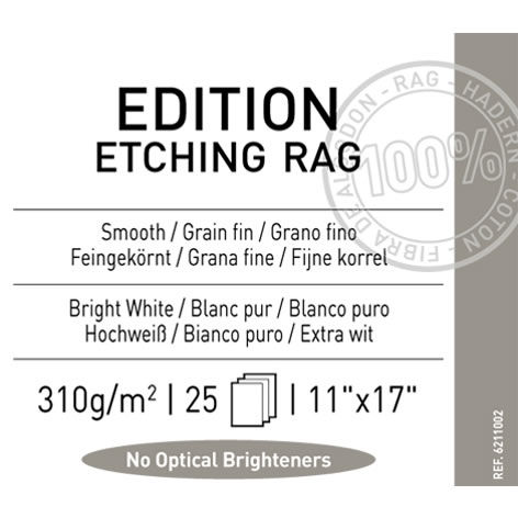 "11"" x 17"" Infinity Edition Etching Rag Matte - 310 gsm - 25 Sheets"