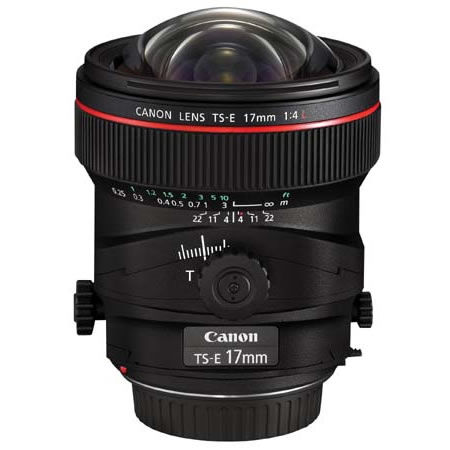 TS-E 17mm f/4L Tilt Shift Lens