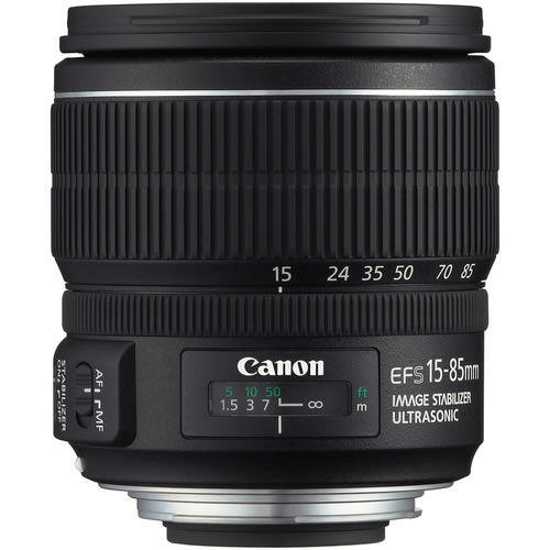 EF-S 15-85mm f3.5-5.6 IS USM Lens