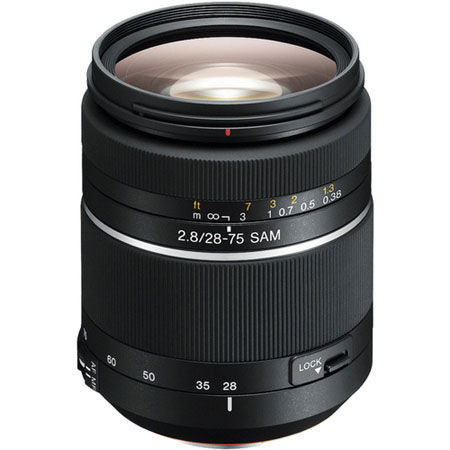 28-75mm f/2.8 SAM A-Mount Lens (A99 & A77)