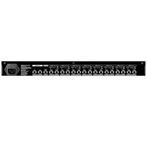 RX1602 Professional Multi- Purpose 16-Input Ultra Low- Noise Line Mixer