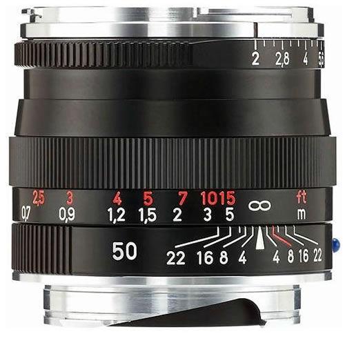 Planar T* 50mm f/2.0 ZM Black