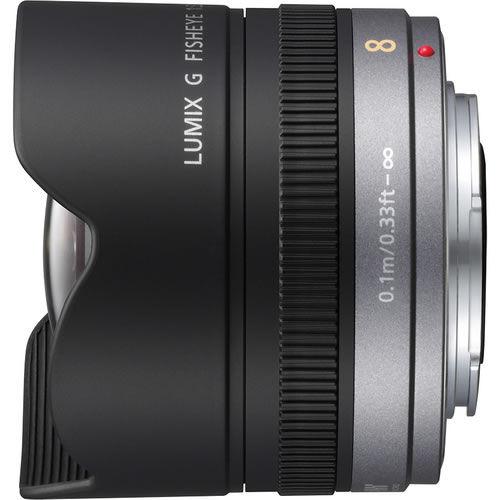 Lumix G 8mm f/3.5 Fisheye Lens