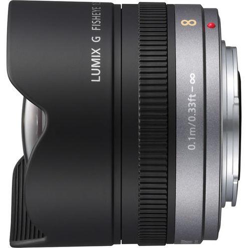 Lumix G 8mm f/3.5 Fisheye Micro 4/3 Lens