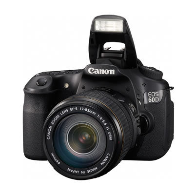 60D camera body w/ SD card