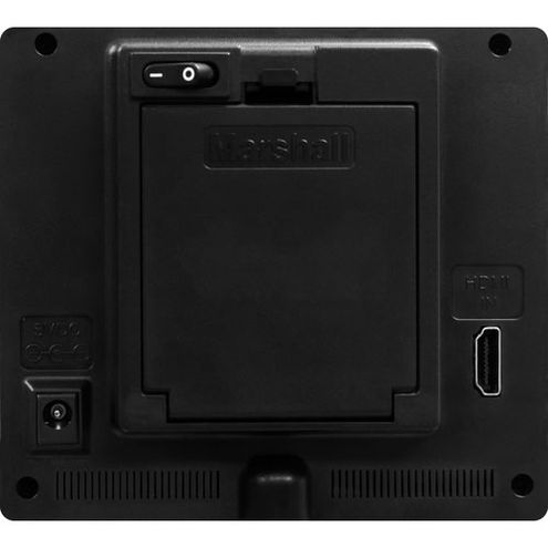 """5"""" On Camera Monitor with HDMI Input (only) , Sun Shade with Peaking and False Color DV Plate"""