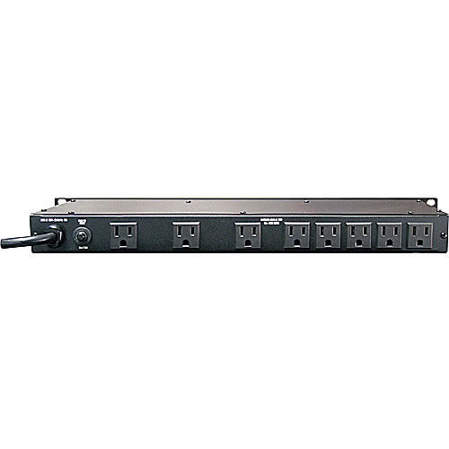 120V/15A Power Conditioner with 9 Outlets, Light Module & Digital Voltmeter