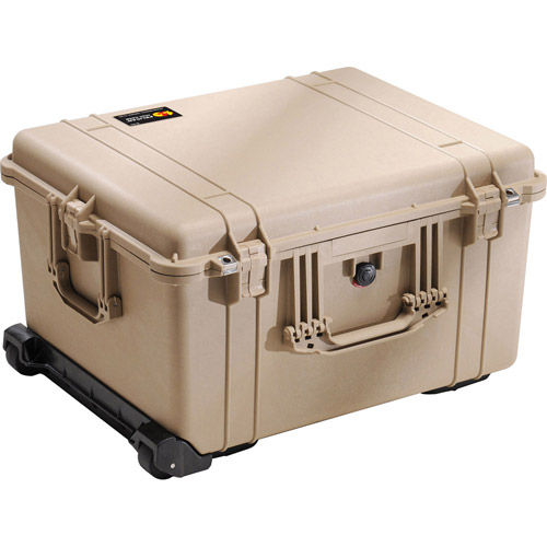 1620 Tan with w/Foam w/Retractable Handle & Wheels
