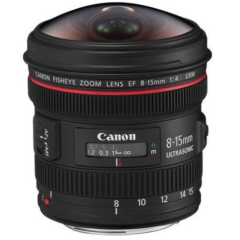 EF 8-15mm f/4.0L Fisheye Lens