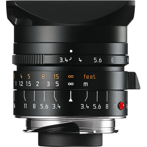 21mm f/3.4 ASPH Super-Elmar-M Black Lens (E46)