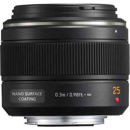 Leica 25mm f/1.4 Asph. Micro 4/3 Lens