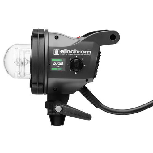 Zoom Pro Flash Head with Clear Glass Dome