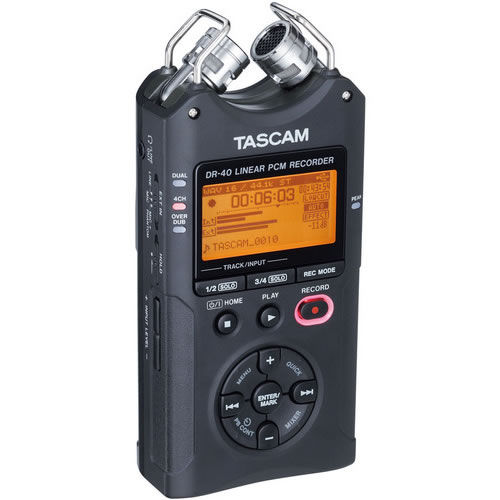 DR-40 Portable 4 Track Recorder