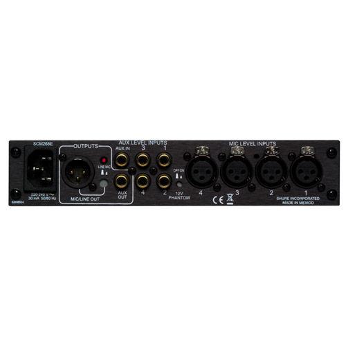 SCM268 4 Channel Mic Mixer