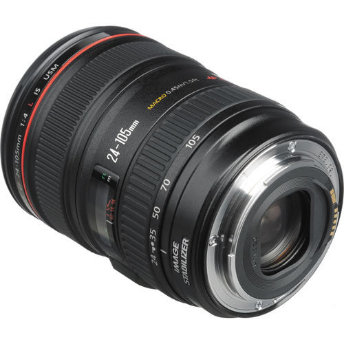EF 24-105mm f/4.0L IS USM Zoom Lens - White Box