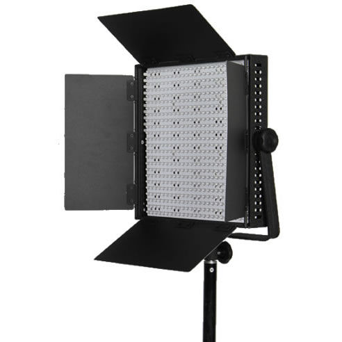 2 x LG-600S LED Lights 5600K with Hard Case