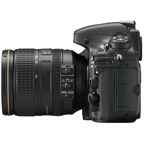 D800 camera body