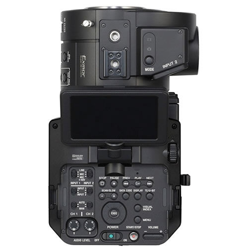NEX-FS700UK Super 35mm NXCAM Full-HD Super Slow Motion E-Mount Camcorder